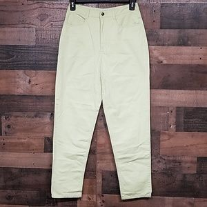 Talbot high waisted green jeans Size 10